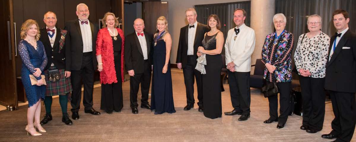 Bournemouth District Law Society Dinner top table guests