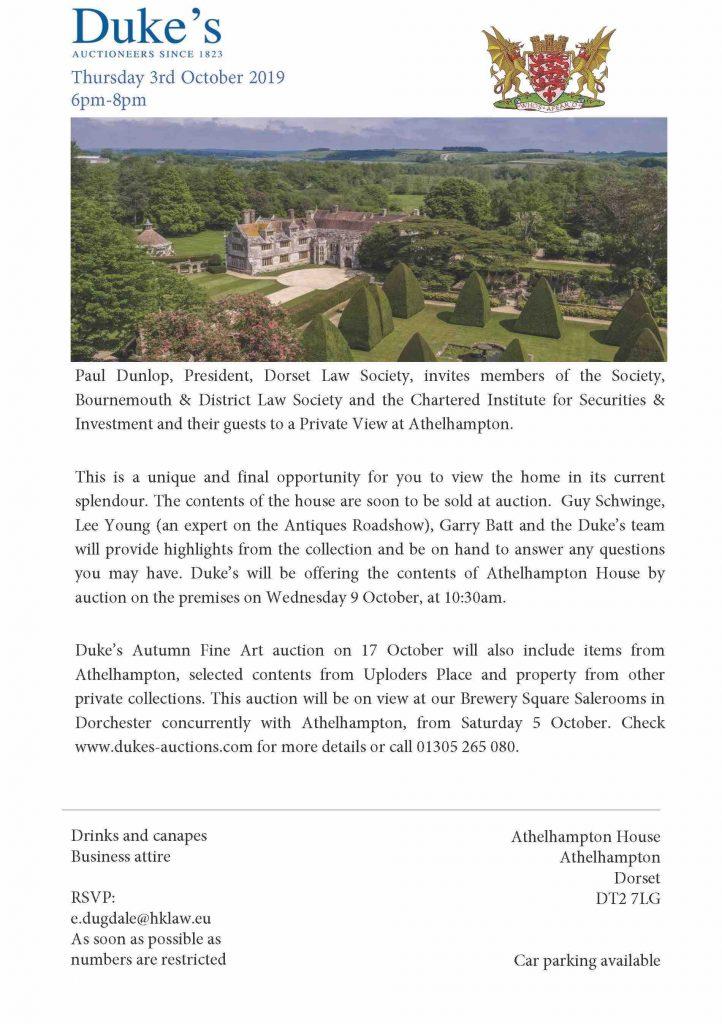 DLS invitation-Athelhampton