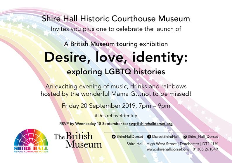 Desire, love, identity exhibition