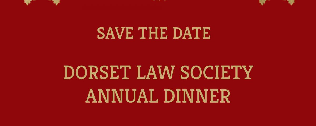 Annual Dinner 2020 save the date