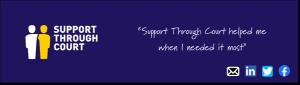 Support Through Court logo/ banner