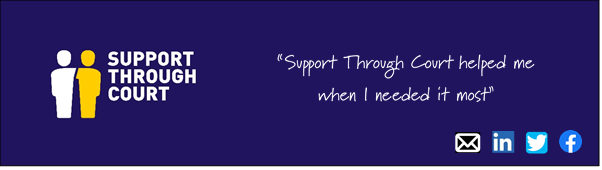 Support Through Court logo/ banner